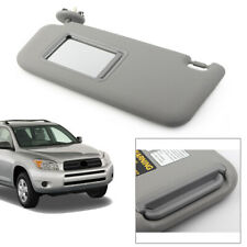 Gray Left Driver Side Sun Visor W/Mirror For Toyota RAV4 06-10 74320-42501-B2