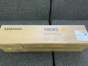 SAMSUNG GENUINE Y808S SERIES YELLOW TONER CLT-Y808S MULTIXPRESS