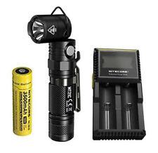NITECORE MT21C 1000 Lumen Adjustable Flashlight w/NL1835 Battery & D2 Charger