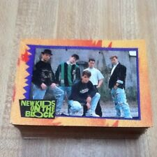 New Kids On The Block - 75 collector cards - 1989 Big Step Production Inc.