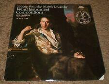 Wind Instrument Compositions Collegium Musicum Pragense~RARE 1981 Czech Import