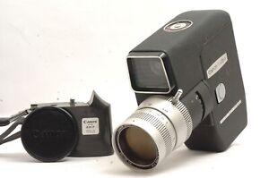 @ Ship in 24 Hours @ Rare! @ Vintage Canon Reflex Zoom 8-3 8mm Film Movie Camera