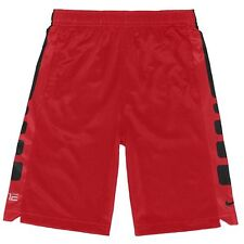 NEW NWT Nike Elite Stripe Red Black Dri-Fit Performance Shorts Toddler Boys 3T