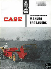 Farm Equipment Brochure - Case - 135 115 100 95 75 - Manure Spreaders (F4312)