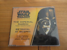 Star Wars:The Imperial March (Darth Vader's Theme) / Betrayal At Bespin.RARE CD