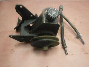 Jeep Cj5 Cj7 Cj7  4.2 6 Cyl V Belt Power Steering Pump