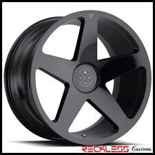 "BLAQUE DIAMOND 20"" BD15 GLOSS BLACK CONCAVE WHEEL RIM FITS F10 BMW M5"