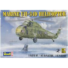 Revell Monogram Marine UH-34 D Helicopter Plastic model kit 1/48
