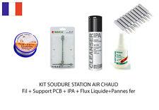 KIT SOUDURE STATION AIR CHAUD BK 601D 702B ...
