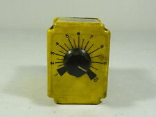 Potter & Brumfield CGB-38-70010M Relay  Time Delay 120VAC 10A .1-10MIN ! WOW !