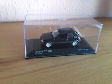 Minichamps Peugeot 205 GTI schwarz  1:43 unbespielt limitiert Modellauto