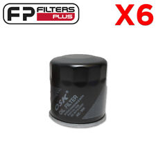 6 x MZ386 Oil Filter Suits Toyota Corolla, Prius, Rav4, Yaris Z386,  90915YZZE1