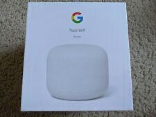 Google Nest Wi-Fi AC2200 Mesh Network wifi Router - Snow. NEW. AC wireless