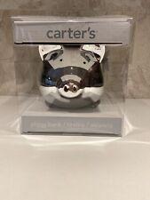 Carters 2014 Rashti & Rashti Silver Piggy Bank Brand New