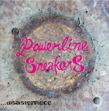 POWERLINE SNEAKERS Disasterpiece CD NEW Splatterheads Kasumuen Records