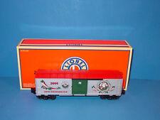 LIONEL  -  #  6  -  29941  -  2006  -  LRRC  DECORATIVE   CHRISTMAS   BOXCAR