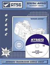 ATSG GM 4T60E Transaxle Training DVD Video & Rebuild Overhaul Manual COMBO PACK