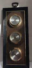 Barometer Thermometer Springfield Weather Station Humidity Gauges Framed