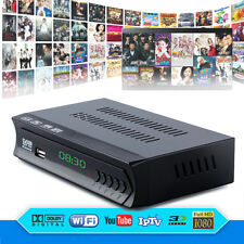 DVB-S2 Digital Satellite Wifi IPTV Combo AC3 Receiver Blind TV BOX IKS Youtube G