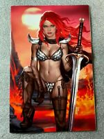 🔥 Red Sonja The Superpowers #1 Josh Burns Exclusive Virgin Cover LTD 500 NM+