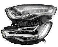 AUDI A6 C7 FULL LED ADAPTIVE AFS HEADLIGHT SET LEFT & RIGHT SIDE GENUINE OEM NEW