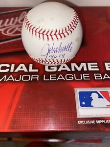 JOHN SMOLTZ  96 CY AUTOGRAPHED MLB BASEBALL GUARANTEED TO PASS AUTHENTICATION