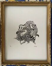 Victor Vasarely Zébras Signed & Numbered + Certificate