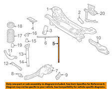 VOLVO OEM 06-13 C70 Rear Suspension-Support Brace Right 30633887