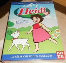 coffret 6 dvd HEIDI version intégrale remasterisée - sous blister