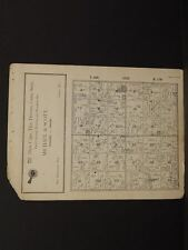 Wisconsin St.Croix County Map Erin Township 1929  W6#80