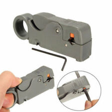 Rotary Coax Coaxial Cable Stripper Cutter Tool for RG58 RG6 RG59 Lead Kit