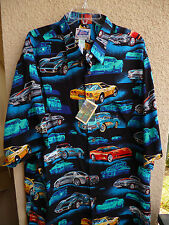 Corvette Hawaiian Shirt  Reyn Spooner Officially Licensed by GM   3XL   NWT