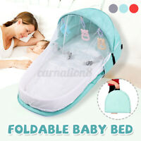 Foldable Portable Baby Bed Crib Travel Newborn Sleeper Infant Bassinet NEW