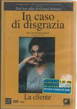 C.Bouquet da Georges Simenon IN CASO DI DISGRAZIA LA CLIENTE nuovo sigillato DVD