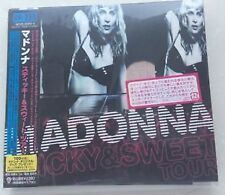 Madonna Sticky & Sweet Tour CD+DVD W/obi 日版 japan press