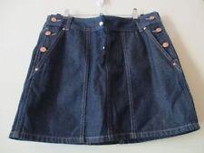 Target Denim Machine Washable Regular Size Skirts for Women