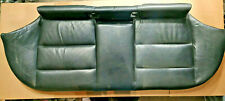 BMW E36 TOURING ESTATE REAR SPORT SEAT BENCH CUSHION COVER BLACK NAPPA LEATHER
