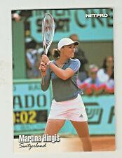 2003 Netpro Tennis #89 MARTINA HINGIS Switzerland HOF HALL OF FAME
