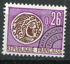 FRANCE TIMBRE   PREOBLITERE  N° 130  OBL   TYPE MONNAIE GAULOISE