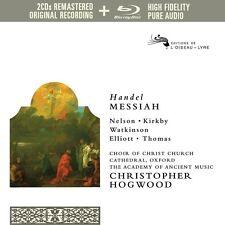 HOGWOOD/NELSON/KIRKBY/AAM/+ - MESSIAS  2 CD + BLU-RAY NEU
