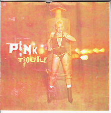 "P!NK (PINK) Trouble PICTURE SLEEVE 7"" 45 rpm vinyl record RARE!"