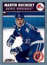 1992-93 Score Canadian Martin Rucinsky #474