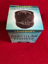 Brand New Lensbaby 5.8mm f/3.5 Circular Fisheye Lens for Canon EOS