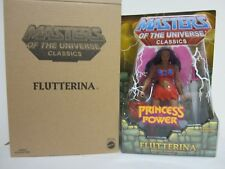 MOTU MOTUC CLASSICS MASTERS OF THE UNIVERSE NEW FLUTTERINA PRINCESS OF POWER POP