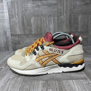 Rare Asics Gel-Lyte V 5 Workwear Sand Tan Brown Sz 10 H5P2L Men's Shoes