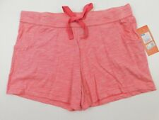Gilligan & O'malley Women's Playful Coral Sleep Knit Pajama Shorts Large