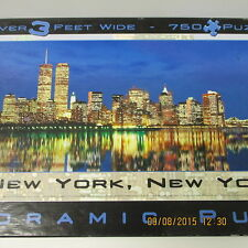 New York City with Twin Towers Panorama Puzzle, 2000, 765 pieces, Over 3 Ft Long