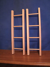 "wooden ladder, toy ladder, 20"" ladder, unfinished, towel ladder,"