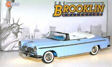 Brooklin BRK 183, 1955 Chrysler Windsor Convertible Coupe, hellblau, blue, 1/43