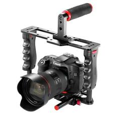 Video Camera Cage Kit Stabilizer Holder Mount Handle Flow Focus Film Making DIY